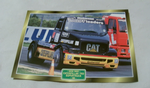 Caterpillar TRD Supertruck 1995 Racing Truck framed picture